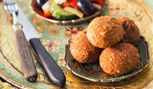 slăbește cu falafel