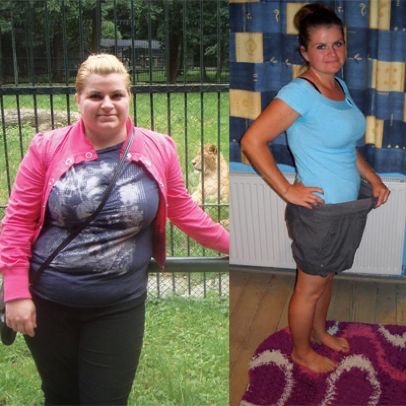 am slabit 30 kg)