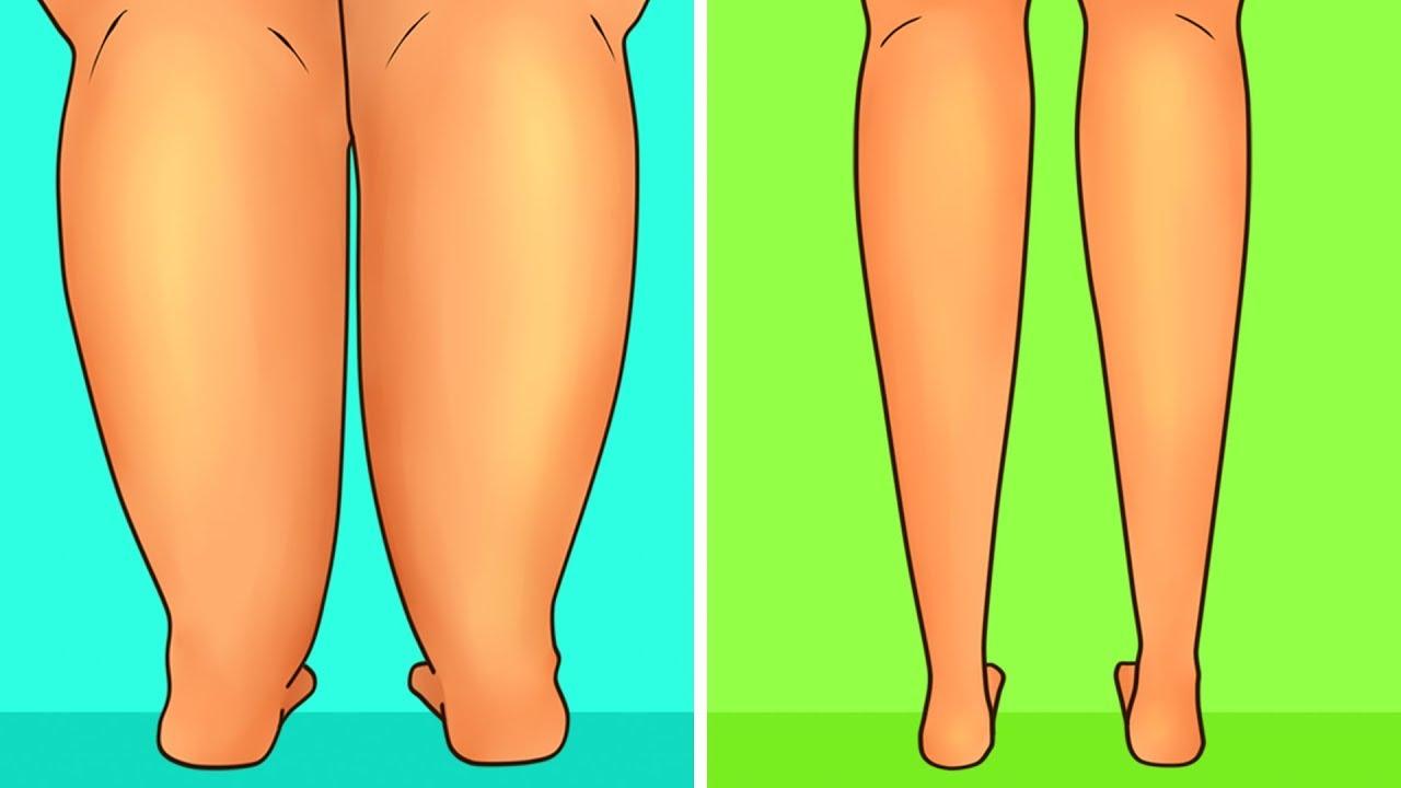 slim down shins