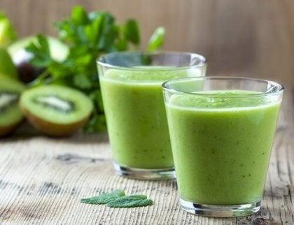 Rețete Smoothies Verzi - Pierderea în greutate sănătoasă prin dieta cu conținut scăzut de calorii