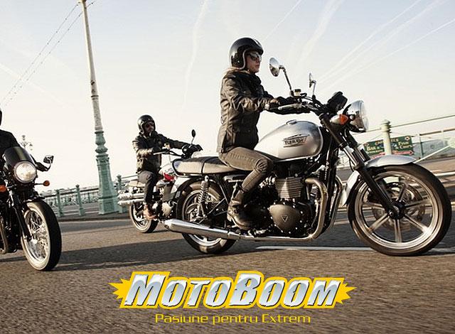 Fostul meu este un Triumph T100. O moștenire bogată: Triumph Bonneville T100 Test moto recenzii