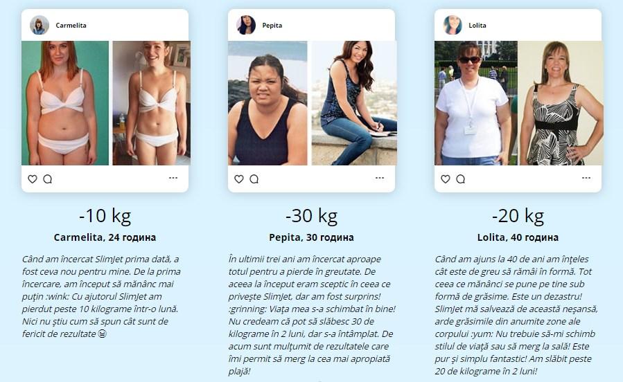 rezultatele pierderii în greutate t25)