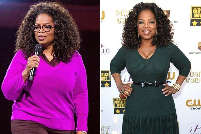 oprah pierdere în greutate