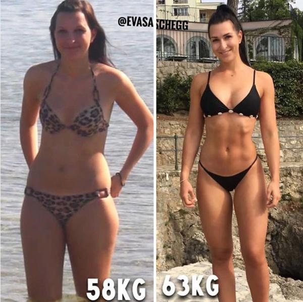 10 kg diferența de pierdere în greutate