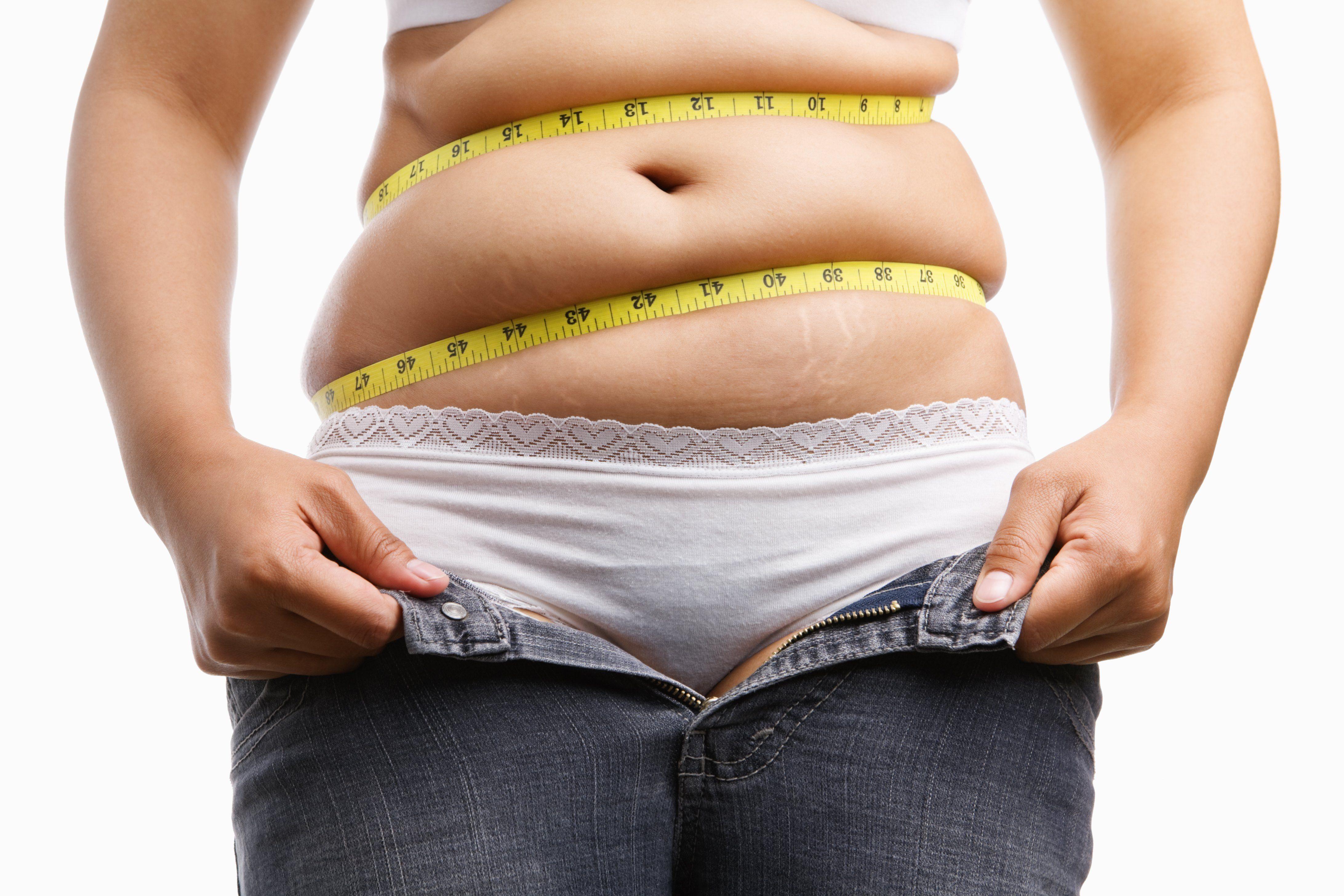 pierde burta gras în săptămână