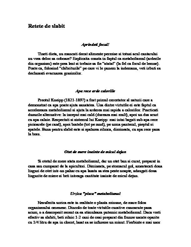 Reguli pentru slabit sanatos, de respectat inca de la inceput de an