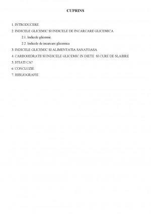 indicele glicemic pentru pierderea de grăsimi